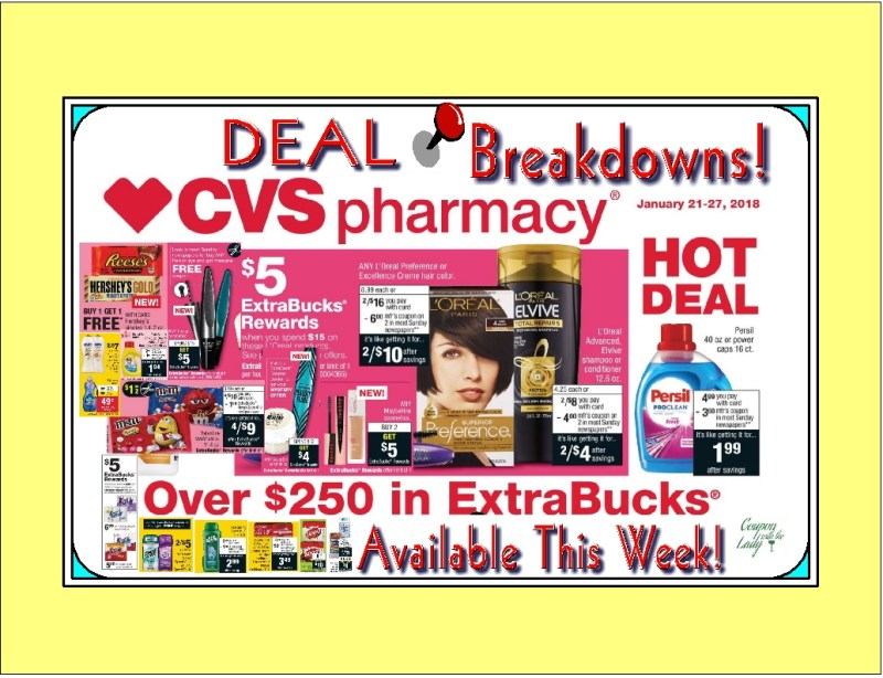 CVS 1/21/18 Deal Breakdowns! Some Fabulous Finds, FREEBIES and Money Maker Potential in Here!!!