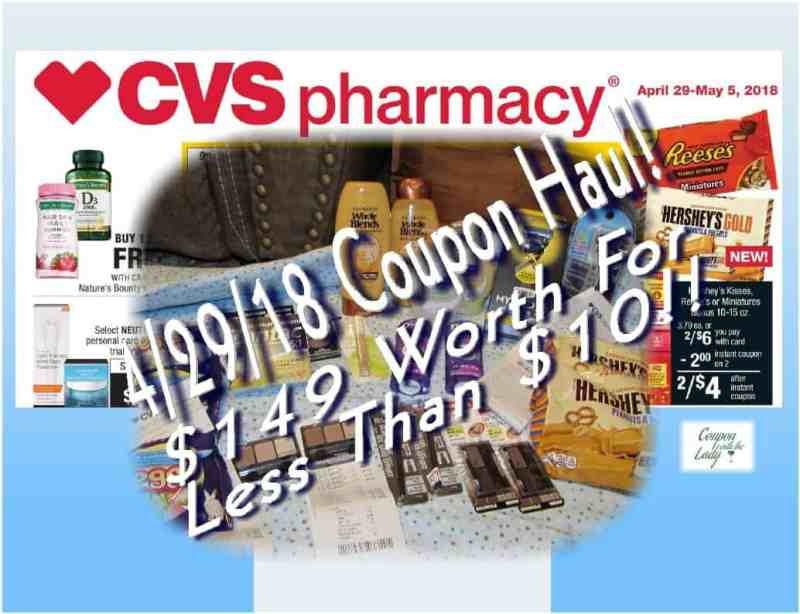 CVS Coupon Haul for 4/29/18! $149 Worth for Less Than $10 Out of Pocket!