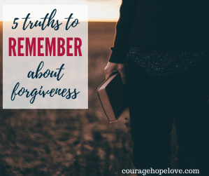 Forgiveness Truths