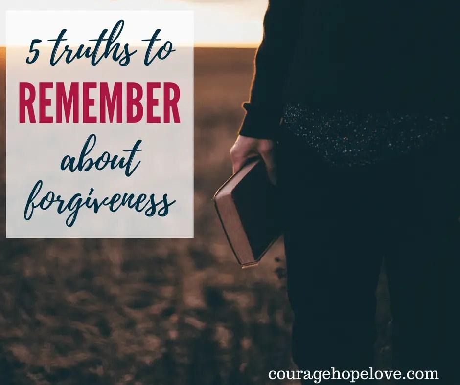 Forgiveness Truths