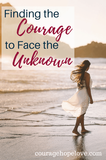 As I wandered through trying to discern God's call on my life, I've taken some wrong turns and some backwards steps. But the biggest thing that kept me from answering His call was the fear of the unknown.