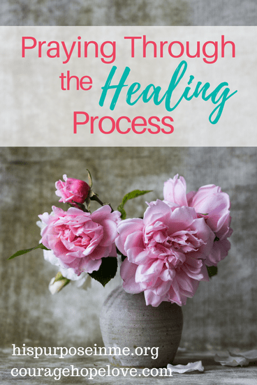 Do you ever struggle to reach out to God in times of struggle? I know I did. Read on to learn how to pray through the healing process. Prayer / Hope and Healing / Encouragement