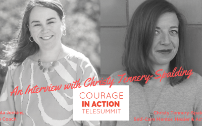Courageously Being Human with Christy Tennery-Spalding
