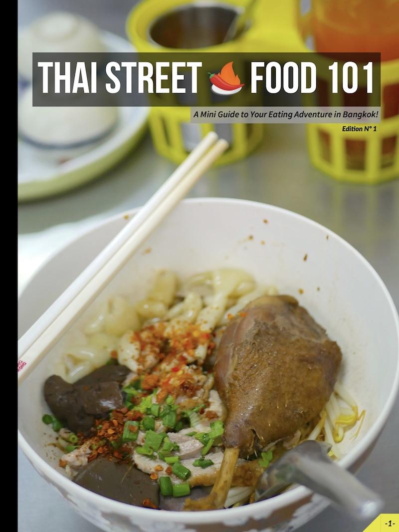 Thai street food 101 courageous kitchen bangkok street food tour bangkok forumfinder Choice Image