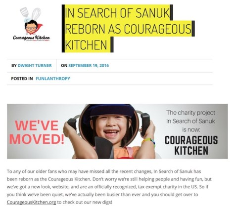 in search of sanuk bangkok