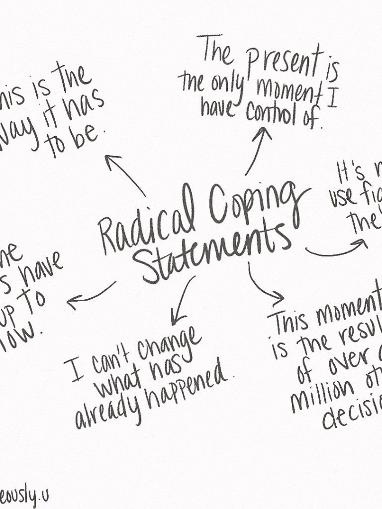 Radical Coping Statements