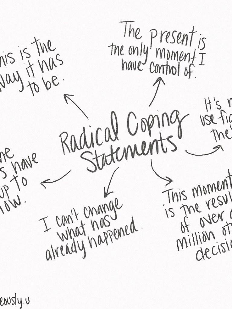 Radical Coping Statements