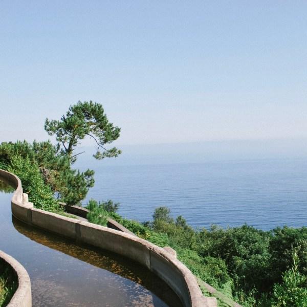 San Sebastian Spain ocean view