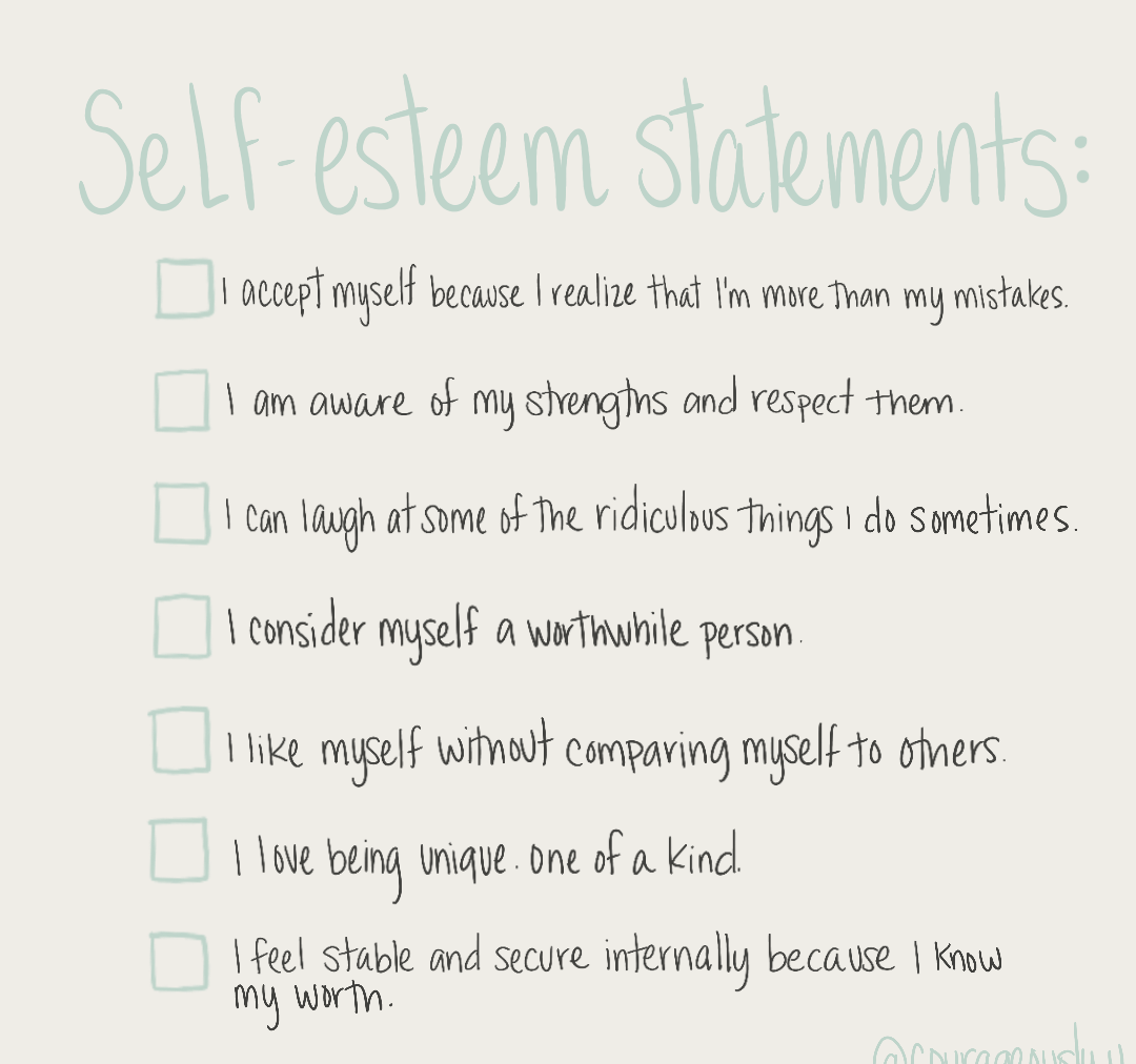 How To Boost Your Self-Esteem