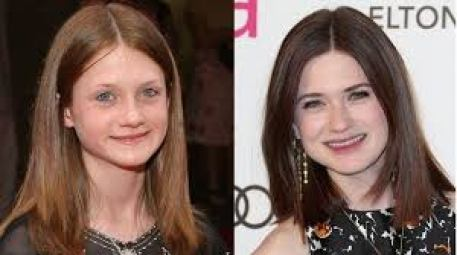 Image result for bonnie wright then and now