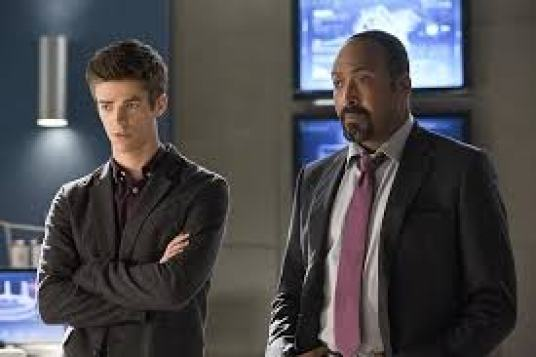 Image result for barry and joe the flash