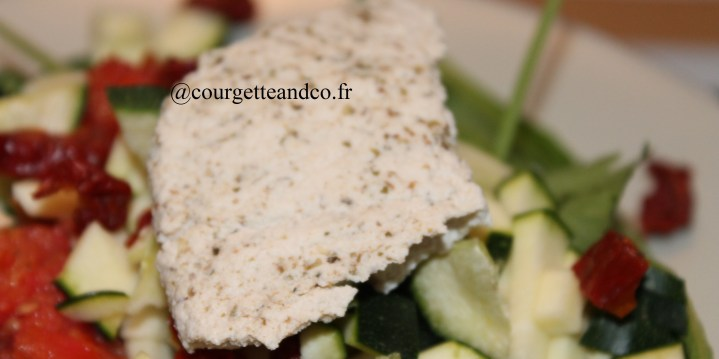 Tofu maison au cumin et au thym