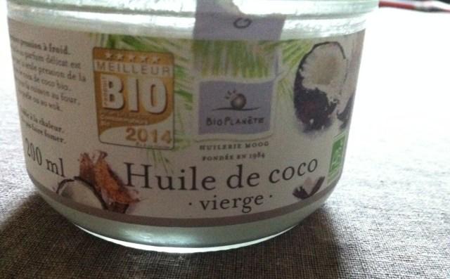 L'huile de coco, mon coup de coeur