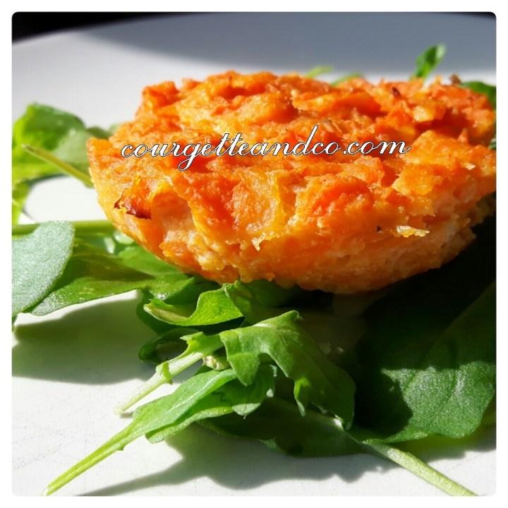 Flan végétal carottes/patate douce