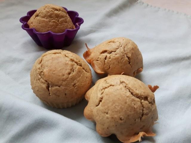 Muffins de Noël à l'amande