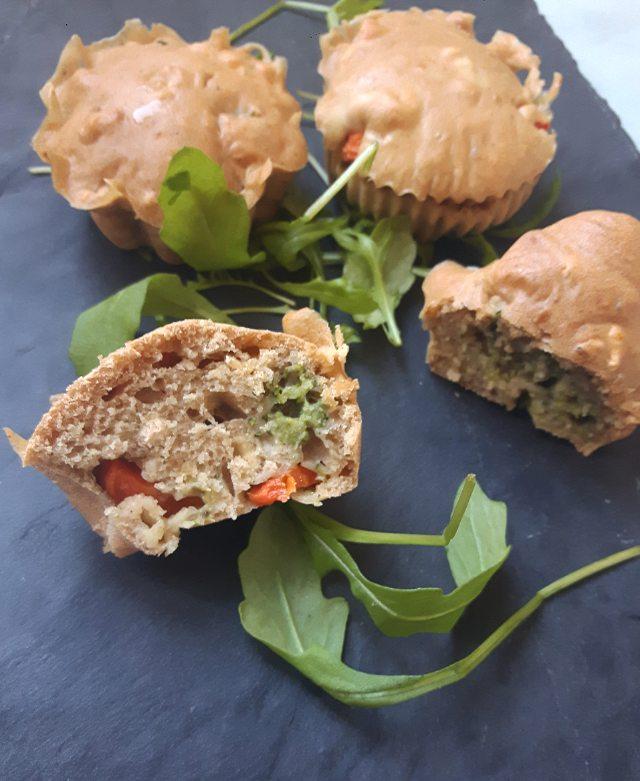Muffins salés au brocolis