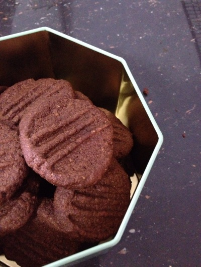The alternative bake: wholemeal chocolate thins without sea salt