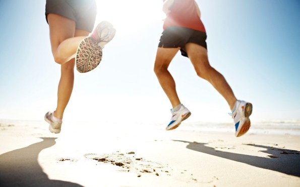 running en été