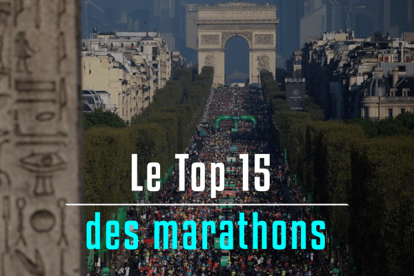 Le top 15 des marathons en France