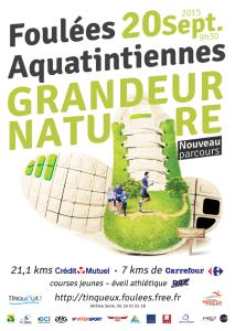 Foulées aquatintiennes - 2015