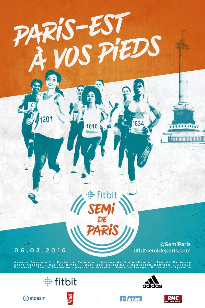 SEMI-MARATHON de PARIS - 2016