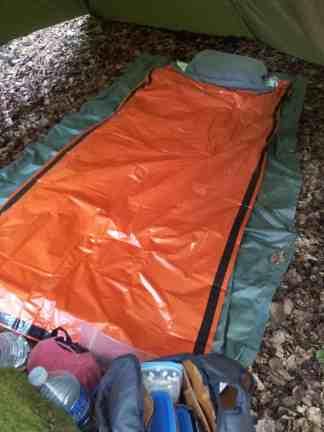Le couchage de Plouis : ceci n'est pas le couchage parfait