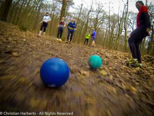 Le trailball, inventé par Christian Harberts