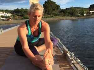 Yoga pour runner : étirement