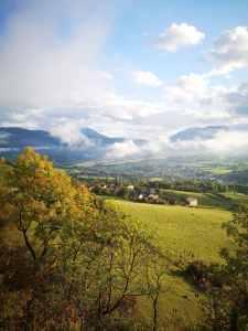 Image de paysage reflétant le plaisir de courir