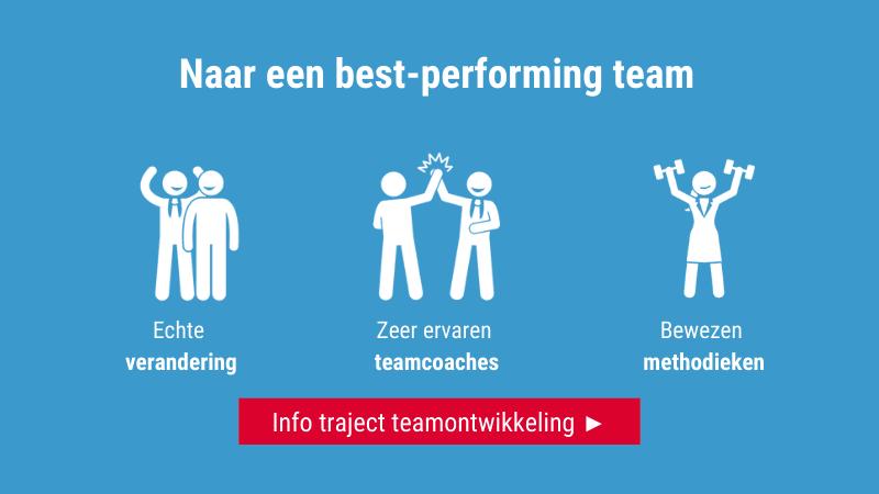teamontwikkelingstraject 'Naar een best-performing team'