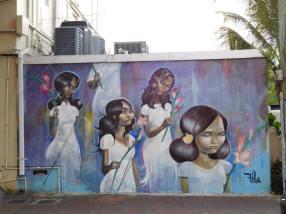 Peinture Murale - Calle Ocho - Miami - Floride