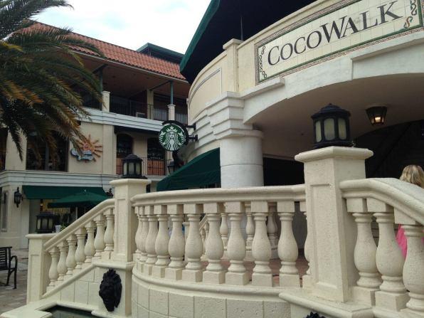 Centre commercial Cocowalk à Coconut Grove