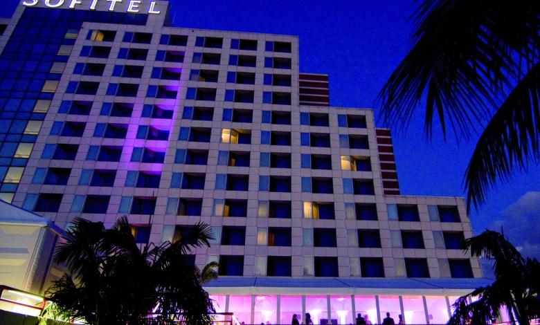 Le Sofitel de Miami se trouve sur le Blue Lagoon, non loin de l'aéroport.