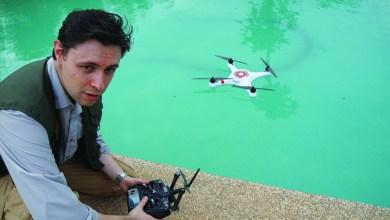 Photo of Benoit Duverneuil, le drone-explorer !