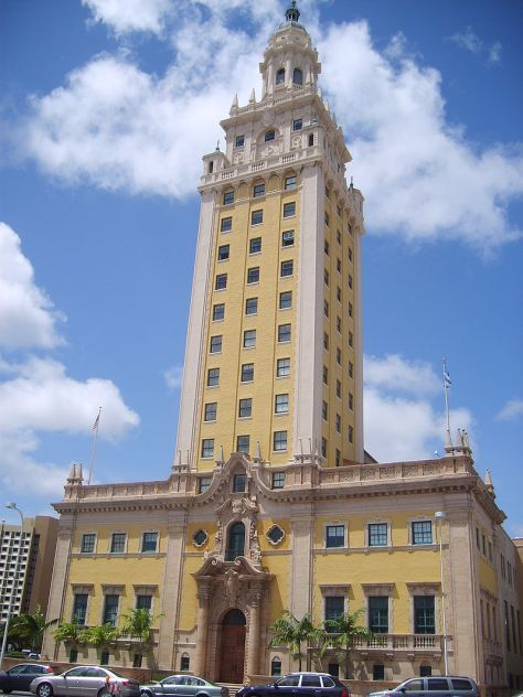 Freedom Tower de Miami Floride