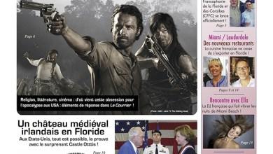 Photo of Le Courrier de Floride de Juin 2015 est sorti !