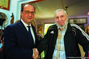 Rencontre de FR.Hollande et F.Castro