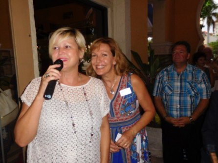 Maryse Verno et Sabine Gierula réunion network Courrier de Floride à Boca Raton