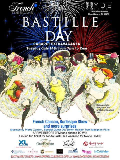 Bastille day Miami FLyer