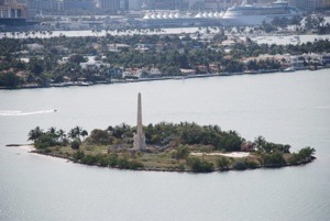 Miami Beach - Flagler Memorial Island - Photo William Wesen - Domaine Public