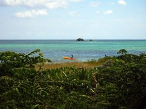 Kayak à Bahia Honda dans les îles Keys de Floride