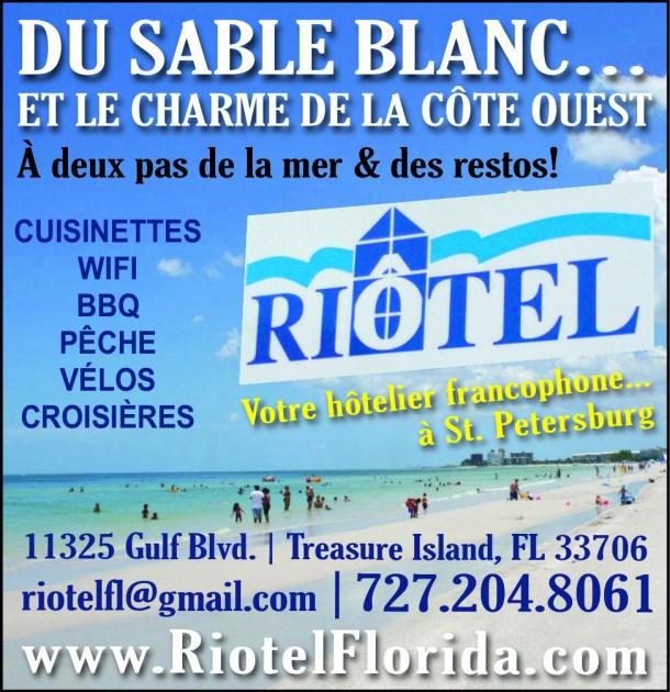 Riotel Hotel St Petersburg Floride