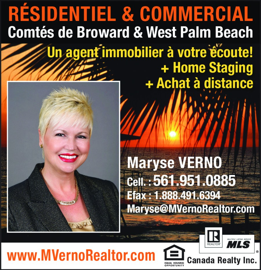 Maryse Verno realtor Palm Beach Broward