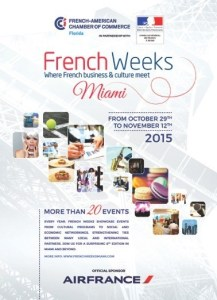 French Weeks Miami programme