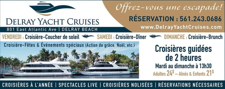 Delray Yacht Cruises