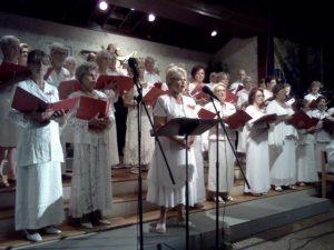 Chorale Saint Maurice (messe catholique à Dania Beach - Floride)