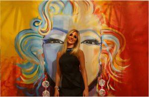 Regina Schneider peintre à Miami en Floride