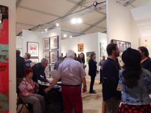 Red Dot Fair Miami photo : Sabrina Bristle pour le Courrier de Floride