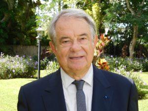 Jacques Brion, président de la French American Society de Miami.