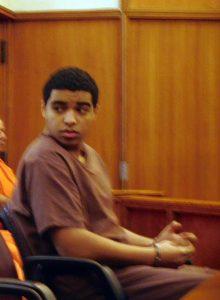 Marc Wabafiyebazu lors d'une comparution au tribunal de Miami le 15 décembre 2015.